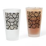 Cracked Mississippi River Drinking Glass