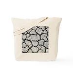 Cracked Mississippi River Tote Bag