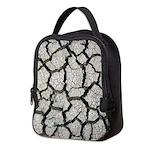 Cracked Mississippi River Neoprene Lunch Bag