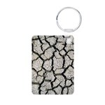 Cracked Mississippi River Keychains