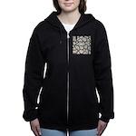 Cracked Mississippi River Women's Zip Hoodie