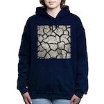 Cracked Mississippi River Women's Hooded Sweatshir
