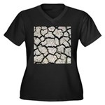 Cracked Mississippi River Plus Size T-Shirt