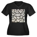 Cracked Mississippi River Plus Size T-Shirt