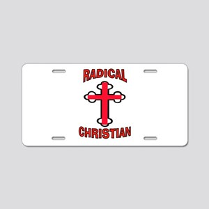 CHRISTIAN Aluminum License Plate