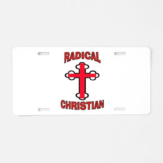 CHRISTIAN Aluminum License Plate