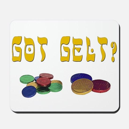 Got Gelt? Mousepad