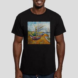 Van Gogh Boats at St Marie T-Shirt