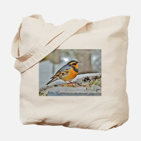 Cute Thrush Tote Bag
