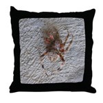 Crab Spider Home Throw Pillow