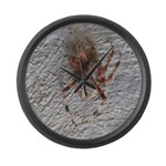 Crab Spider Home Large Wall Clock