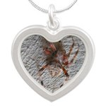 Crab Spider Home Necklaces