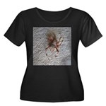 Crab Spider Home Plus Size T-Shirt