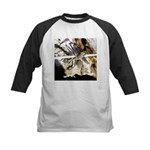 Furry Wolf Spider on Rocks Baseball Jersey