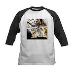 Furry Wolf Spider on Rocks Baseball Jersey