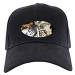 Furry Wolf Spider on Rocks Baseball Hat