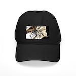 Furry Wolf Spider on Rocks Baseball Hat