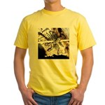 Furry Wolf Spider on Rocks T-Shirt