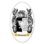 Goudman Sticker (Oval 50 pk)