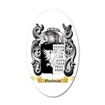 Goudman 20x12 Oval Wall Decal