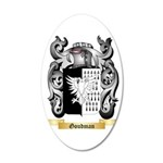 Goudman 35x21 Oval Wall Decal