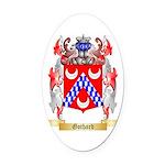 Gothard Oval Car Magnet