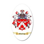 Gostling 20x12 Oval Wall Decal