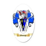 Gossage Oval Car Magnet