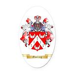 Gosling Oval Car Magnet