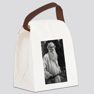 leo tolstoy Canvas Lunch Bag