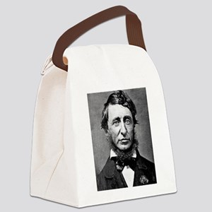 henry david thoreau Canvas Lunch Bag