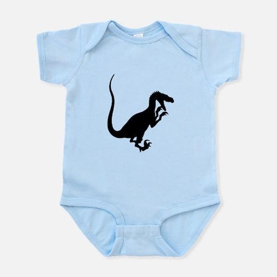 Velociraptor Silhouette Body Suit