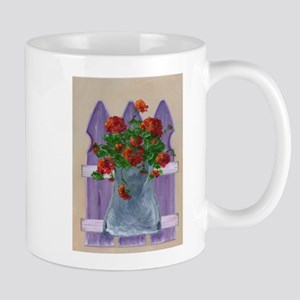 Flower Fence Mugs