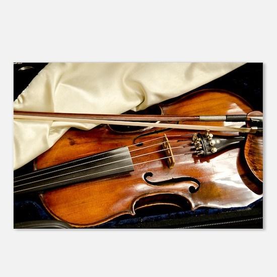Vintage Violin Postcards (Package of 8)