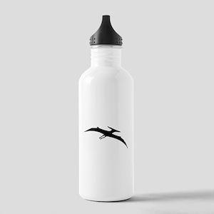 Pterodactyl Silhouette Water Bottle