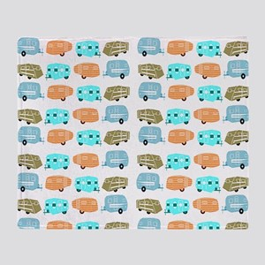 Rambling RVs Throw Blanket