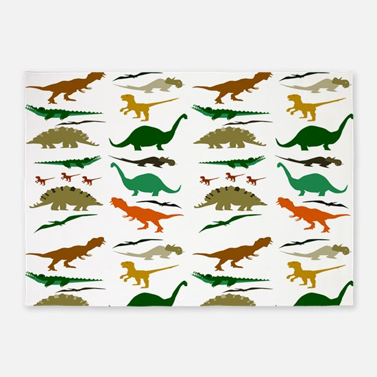 Dinosauria 5'x7'Area Rug
