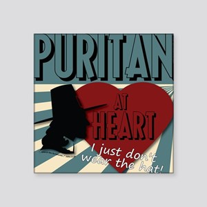 A Puritan at Heart Sticker