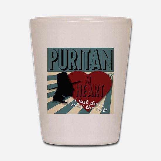 A Puritan at Heart Shot Glass