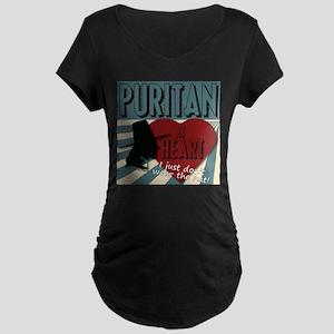 A Puritan at Heart Maternity T-Shirt
