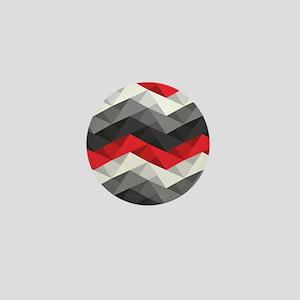 Abstract Chevron Mini Button