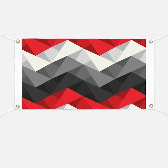 Abstract Chevron Banner