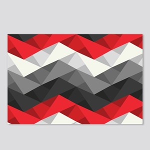 Abstract Chevron Postcards (Package of 8)