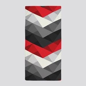 Abstract Chevron Beach Towel