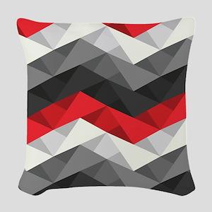 Abstract Chevron Woven Throw Pillow