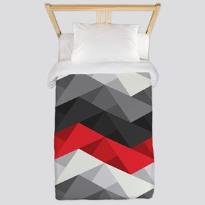 Abstract Chevron Twin Duvet