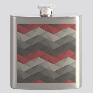 Abstract Chevron Flask