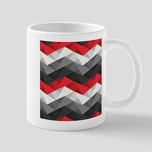 Abstract Chevron Mug