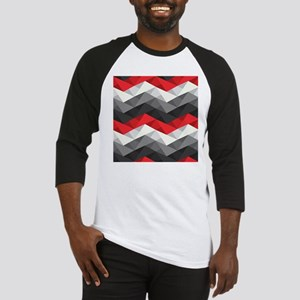 Abstract Chevron Baseball Jersey