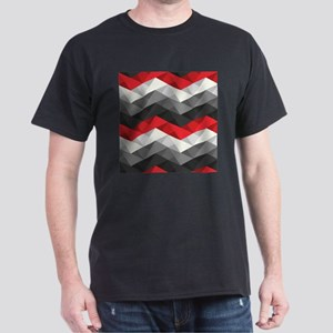 Abstract Chevron Dark T-Shirt